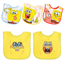 5pcs/lot Cotton Baby Boys&Girls Bibs Infant Embroidered Saliva Towels Feeding Burp Cloths Lovely Baby Accessories Bibs 14-088(China)