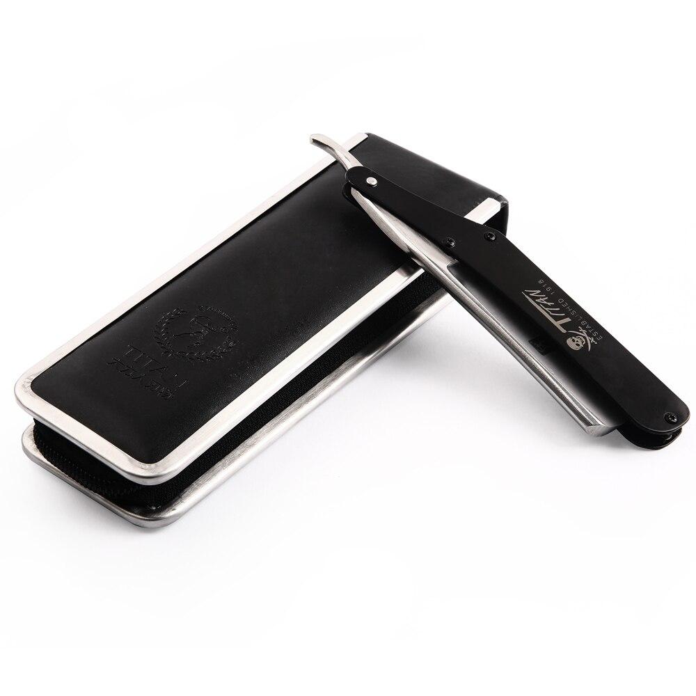 Japan Steel Classic Straight Razor Barber Men Shaving Folding Knife Kapper Salon Razors Titan Manual Shaver Hairdresser<br>