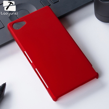 Mobile Phone Case For Sony Xperia T2 XM50T T3 Z1 Mini Z2 Z3 Mini Cover Ultra Thin Oil-coated Rubberized Plastic Back Sheild
