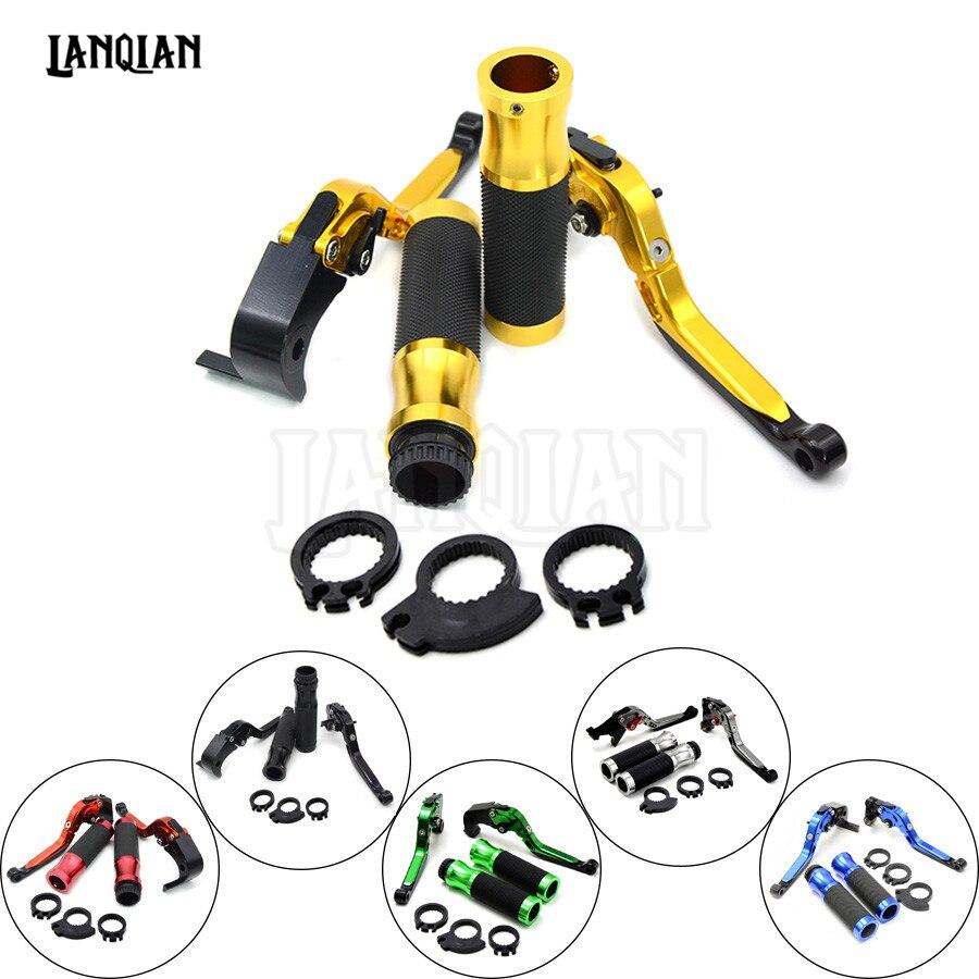 Motorcycle Brake Clutch Levers &amp; handlebar handle bar For Suzuki GSXR600 GSXR750 1997 1998 1999 2000 2001 2002 2003 GSXR 600 750<br>