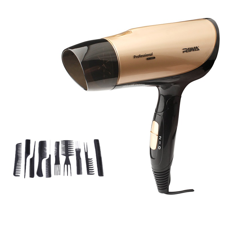 Blow Dryer Hair Dressing Salon Negative ions 2 Stalls Electric Styling Hair Dryer<br>