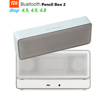 Original Xiaomi Mi Rectangular Bluetooth Speaker Pencil Box 2 Square Stereo Portable High Definition 10h Play Music(China)