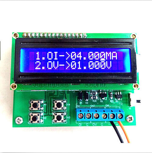 4-20mA Current Signal Generator 0-10V Voltage Generator Transducer Simulator yy<br><br>Aliexpress