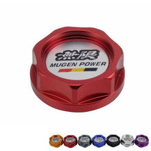 Racing Mugen Aluminium Oil cap Fuel Tank Cap Cover for honda(China)