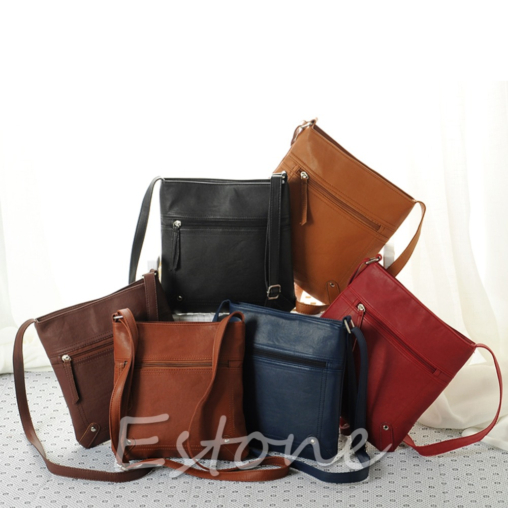 Fashion Womens Faux Leather Satchel Cross Body Shoulder Messenger Bag Handbag<br><br>Aliexpress