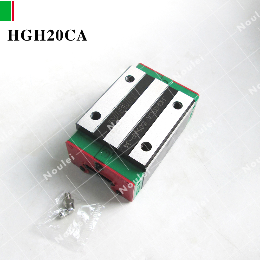 HIWIN HGH20 CNC Linear Slider HGH20CA HIWIN NEW For 20 Linear Guide Rail<br>