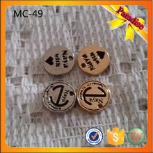 MC49 personalized letter word phrase tags, company brand logo promotion charm(China)