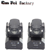 (2PCS) LED Mini Moving Head Beam Light RGBW 10W Cree Led Lamp DMX 11/13Channels DJ Light for Bar Home PaRty Club Wedding