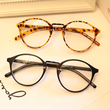 DRESSUUP Cute Style Vintage Glasses Women Glasses Frame Round Eyeglasses Frame Optical Frame Glasses Oculos Femininos Gafas