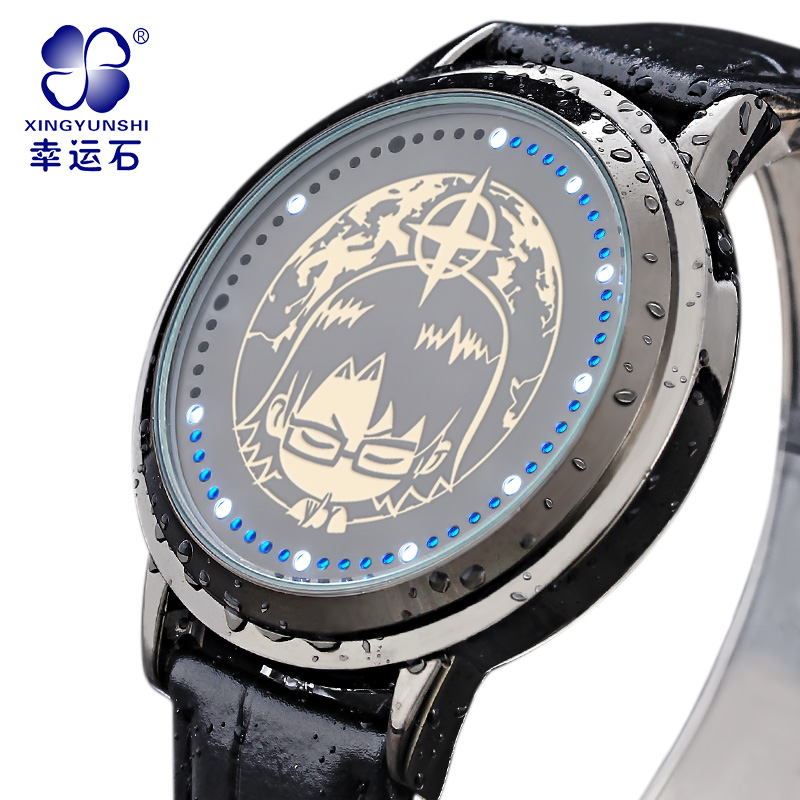 Super LED Casual Wristwatches Xingyunshi Brand Leather Analog Digital Watch men and women Fashion 2017 relojes hombre<br><br>Aliexpress