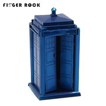 Finger Rock DIY Assembling Puzzles Metal 3D Model Tardis K-9 Dog Dalek Robot Cyberman Head Model Jigsaws Puzzles for Adults