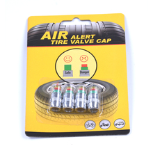 2.0bar 30 PSI Car Tyre Tire Pressure Valve Stem Caps Sensor Eye Air Alert Tire Pressure Monitoring Tools Kit 4pcs/lot(China)