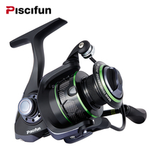 Piscifun 2017 New Venom Water Resistant Spinning Reel Max Drag 12Kg Carbon Drag 10+1 Bearings Sea Boat Carp Spinning Reel(China)