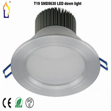 Free shipping 50pcs/lot T19 LED Down Light 9w 4 inch LED Ceiling Down Light AC85-265v Hot Sale LED Spot recessed Down led Light