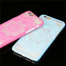 Luxury Vintage Henna Mandala China Style Flower Pattern for iphone 6 6S Phone Cases 4.7 Inch Cell Phone Back Cover