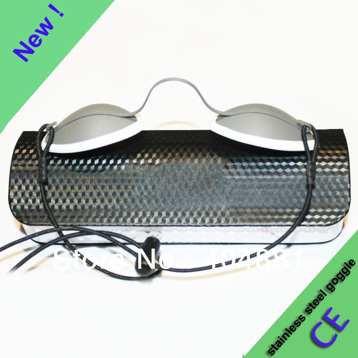 new arrival stainless steel lase goggles 190-10600nm O.D 7+<br><br>Aliexpress