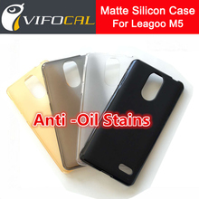 Leagoo M5 Silicon Case Matte TPU Anti-Oil Stains Anti-Knock Comfortable Protective Back Cover For Leagoo M5 Mobile Phone
