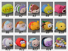 Free Shipping 1PCS Genuine Woody Buzze Bear Alien Dwarf Donald Duck Pig Tsum Tsum Plush Toys Smartphone Cleaner Kids Gifts 3""