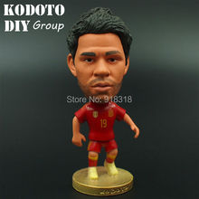 "Soccer 2014 world cup Spain Team 19# DIEGO COSTA 2.5"" Doll Figurine"