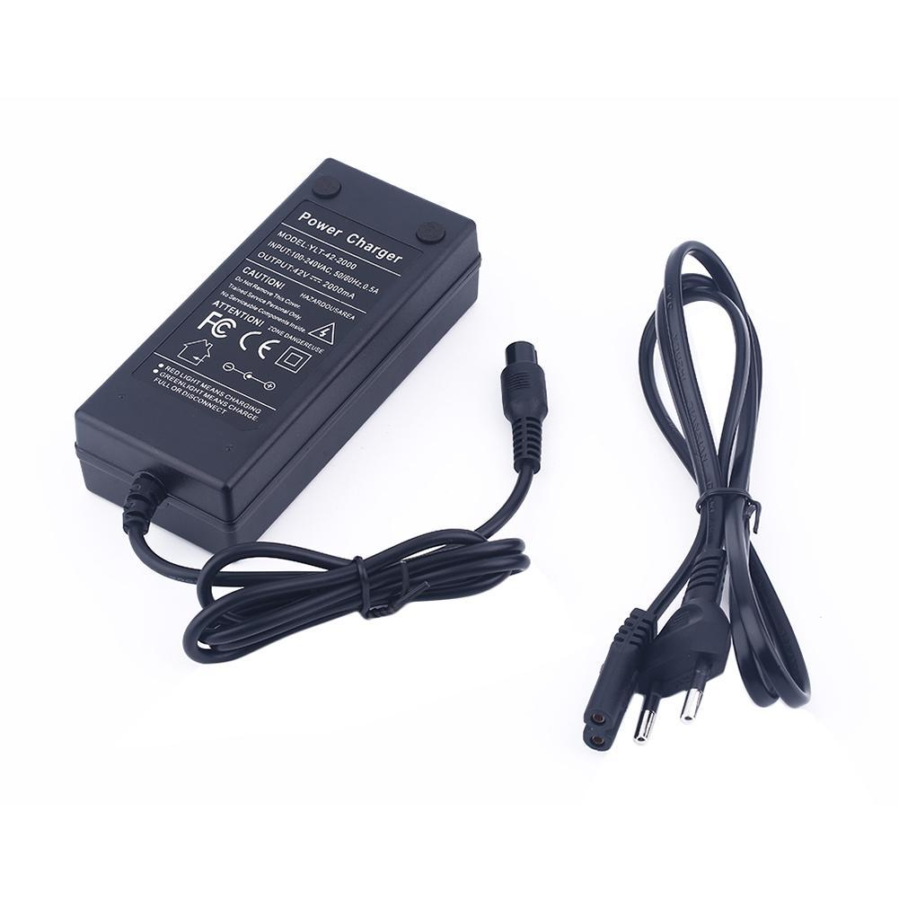 42V 2A Universal Battery Charger EU/US Plug Power Supply 6.5/8/10 Inches 2 Wheels Self Balancing Electric Scooter Hoverboard