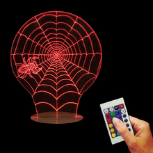 Free Shipping 1Piece Halloween Scary Party Scene Props Colorful Night Light Stretchy Cobweb Spiders Web Net Horror Decor Lamps