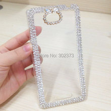 XINKSD Luxury 3d case For Sony Xperia C S39h,Crystal Bling Case Rhinestone Cover For Sony Xperia C S39h C2305 C2304 Cases(China)