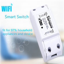 Itead Sonoff Intelligent WiFi Wireless Smart Home DIY Switch 433mzh rf For MQTT COAP Android IOS Wifi Remote Control Modules