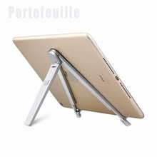 Portefeuille Aluminum Tripod For Phone iPad Samsung Galaxy Tab S2 S8 Kindle iPhone 7 Plus 6 Holder Desk lazy Tripode Accessories