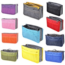 Hoomall Cosmetic Container Storage Bag Make Up Organizer Holder Multifunction Zipper Portable Travel Storage Bag Thicken