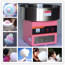 Electric cotton candy making forming machine cotton sugar candy floss maker fancy art candy cloud party(China)