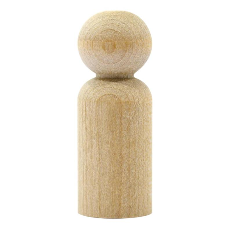 Detail Feedback Questions About 10pcs Natural Wood Peg Dolls Kids