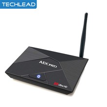 A5X Pro Android 7.1 TV Box 2G/8G-16G-32G Smart Media Player 4K HD KD 17.1 Quad Core RK3328 WIFI Internet Set Top Box Miracast