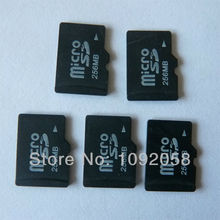 Hot sale!! 10pcs/ lot Micro SD card 128mb 256mb 512mb  8gb memory card  Free SD adapter Free shipping