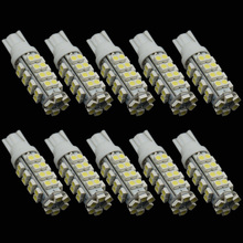 CQD-Light 10PCS T10 38 SMD Led Automotive Bulb 38 Leds 3528 SMD W5W 168 194 921 Interior Parking Lights Lamps Bulbs 12V DC(China)