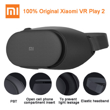 100% Original Xiaomi MI VR Play 2 Virtual Reality 3D Glasses Immersive For 4.7-5.7 inch 1080P Smart Phones For Samsung Iphone(China)