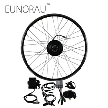 36V250W front legal electric bike hub motor kit e bike conversion kit disc brake with 20/26/28inch black rim