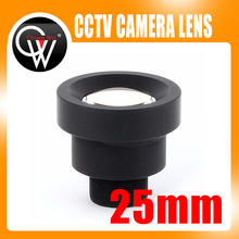 New 1/3'' 25mm M12 CCTV MTV Board IR Lens for Security CCTV Video Cameras