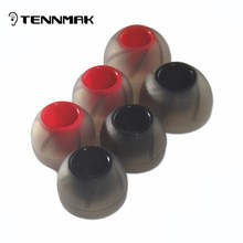 TENNMAK 18pcs/pack exclusive turbo whirlwind silicone  eartips & ear sleeve & ear pad & ear tip & earphone accessory -S/M/L size