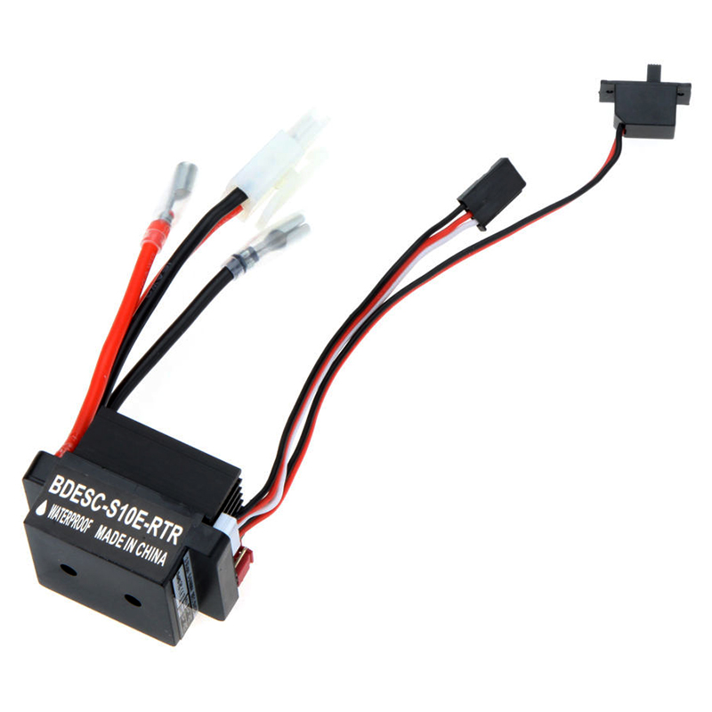 320A-6-12V-Brushed-ESC-Speed-Controller-W-2A-BEC-for-RC-Boat-U6L5 (3)