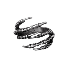 Мужская мода Открытие Talon Кольца Тайна Ювелирные Изделия Готический Панк Античная Медь Орлиный Коготь Кольцо