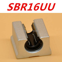 Free shipping SBR16 SBR16UU 16mm Linear Ball Bearing Block CNC Router