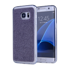 Shiny Sequin Silicone Glitter Cases For Samsung Galaxy Note 5 N920T N9200/Alpha G850 Soft TPU Cover Colorful Foil Cell Phone Bag(China)