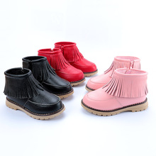 2016 new winter baby boots size 21-37 children boots warm boots children shoes HB1701