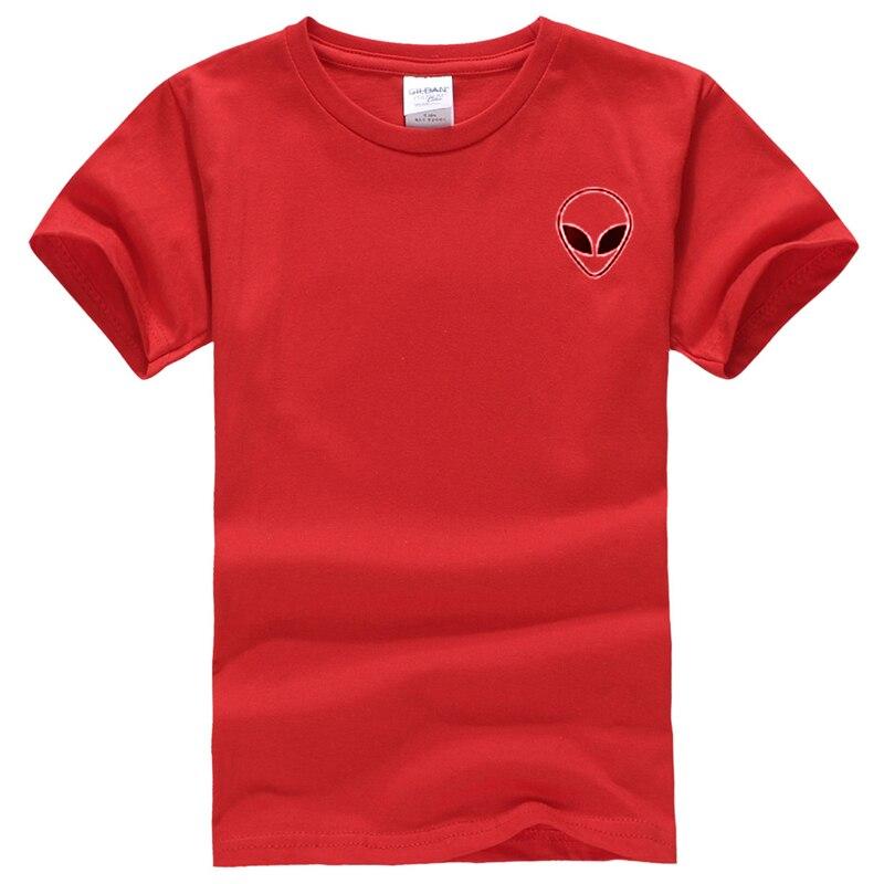 19 couleur S-XL Plaine T Shirt Femmes Coton Élastique De Base Chemises Casual Tops À Manches Courtes Harajuku Alien T-shirt Femme Vêtements 29