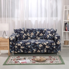 Flowers Printing Corner Sofa Covers For Living Room Universal Stretch Furniture Covers Couch Loveseat Anti-dirty Sofa Slipcovers