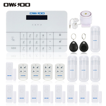 OWSOO 433Mhz Wireless GSM SMS Home House Security Burglar Intruder System Remote Control By APP/SMS Alarm System Auto Dialer