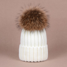 winter hat for women girl knitted beanies female cap winter hat for women(China)