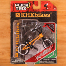 Mini Finger BMX Bicycle Flick Trix Finger Bikes Toys BMX Bicycle Model Bike Tech1 Deck Gadgets Novelty Gag Toys For Kids Gifts(China)