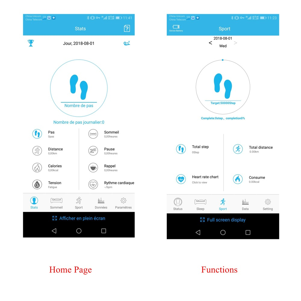 Home Page And Functions