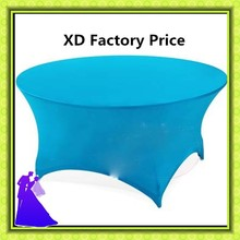 Free shipping  hot selling 10pcs spandex table cloth/table cover wholesale price